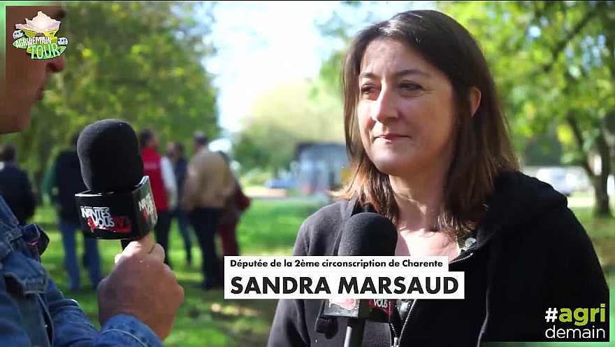 Agridemain Tour 2021 sur TV Locale Smartrezo Charente :  Il est nécessaire de faire connaître les métiers de l'agriculture @MARSAUDSandra @Agridemain